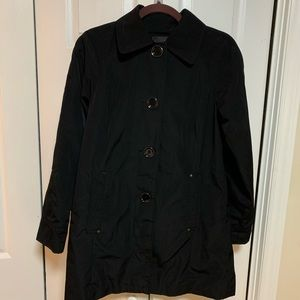 London Fog Rain Jacket (Black)